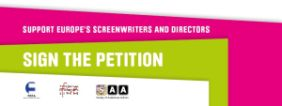 Petition Support Europe's Screenwriters and Directors